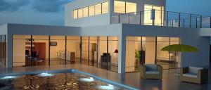 location maison de luxe